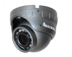 Bullwark - BLW-102MC 1M AHD 2.8mm Sabit Lens Araç İçi Dome Güvenlik Kamerası