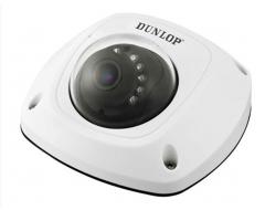 Dunlop 1,3 mp Mini Mobil Dome Kamera 10 mt IR(Dahili mikrafon)