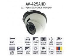 Avenir AV-425AHD IR Dome Kamera