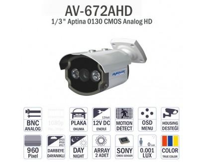 Avenir AV-672AHD IR Dome Kamera
