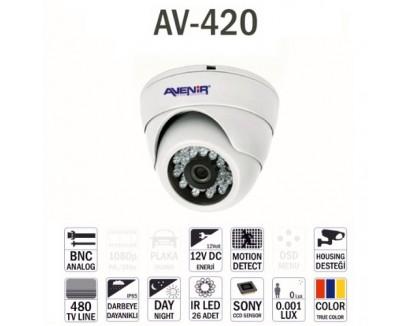 Avenir Av-420 Dome Kamera