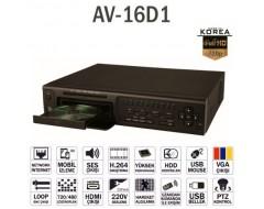 Avenir AV-16D1 DVR Kayıt cihazı