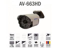 Avenir  Av-663HD Gece Görüşlü Kamera