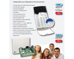Crow Runner 16 Panel ve Keypad 61681 Alarm Sistemi