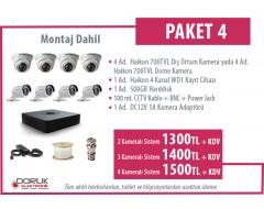 4 Adet Haikon Kamera Paketi 4