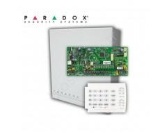 Paradox  SP4000 Panel, K636 Keypad, Metal Kutu