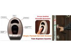 Desi Utopic Parmak İzli Kapı Kilit Sistemi