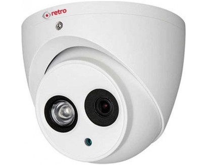 RETRO-RD-1200EM-D2.0 Megapiksel 1080P IR Dome HDCVI Kamera
